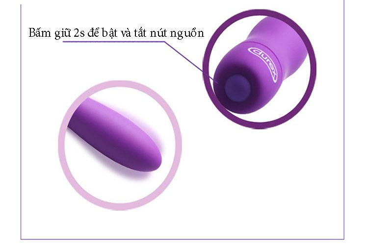 Trứng rung Durex S-viber mini đa tần số