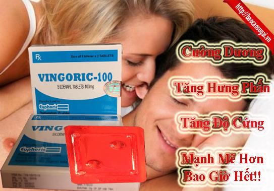 Thuốc cường dương Vingoric 100mg hỗ trợ yếu sinh lý